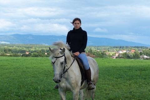 FOTKA - na koňském hřbetě