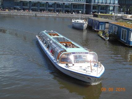 FOTKA - Amsterodam - vyhlídková loď