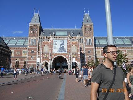 FOTKA - Rijksmuseum - hlavní vchod