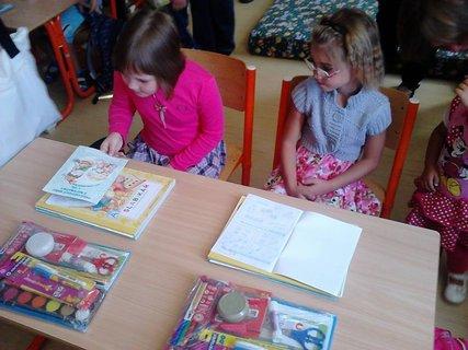 FOTKA - Miška-prvý den ve škole