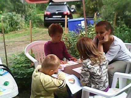 FOTKA - v lete,deti mali zábavu