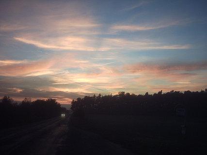 FOTKA - západ slunce u Lysé