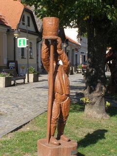 FOTKA - Muž - vyřezávané sochy