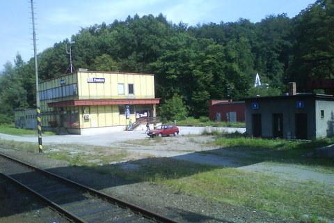 FOTKA - Na nádraží v Paskově