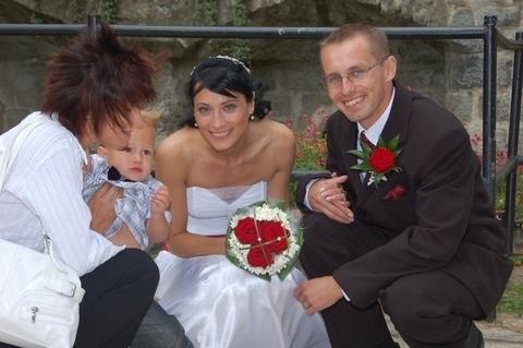 FOTKA - svatební hosté a my