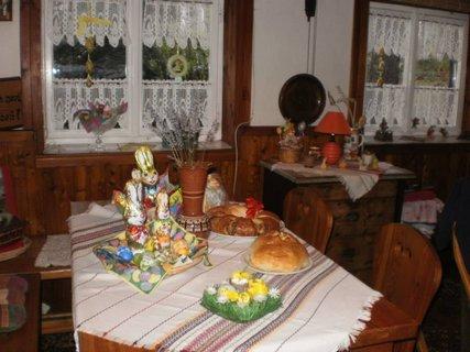 FOTKA - velikonoce na chatě