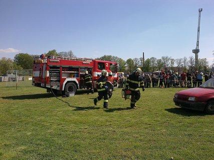 FOTKA - Zásah hasičů