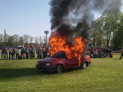 FOTKA - Příprava auta k hasičskému zásahu