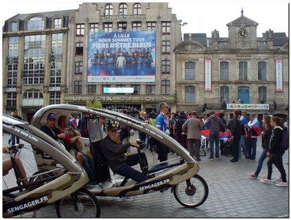 FOTKA - Euro 2016, námestie v Lille