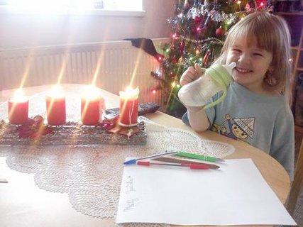 FOTKA - Krásné Vánoce všem přeje ANETKA