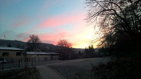 FOTKA - Tetčice východ slunce