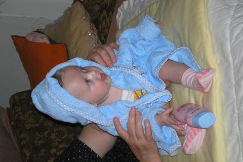 FOTKA - Jako velká holka v lázních:)