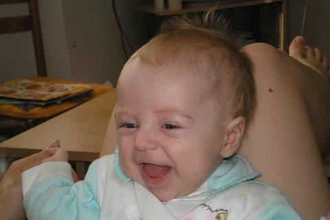 FOTKA - takhle mě rozesměje jen ségra:)