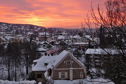 FOTKA - Západ slunce nad Jabloncem