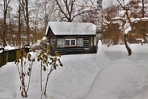 FOTKA - Zimní chaloupka