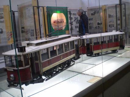 FOTKA - Maketa tramvaje