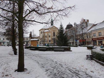 FOTKA - Benešov zima