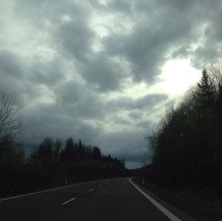 FOTKA - cesta do Sokolova a mraky