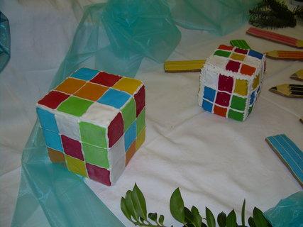FOTKA - Rubikova kostka z perníku
