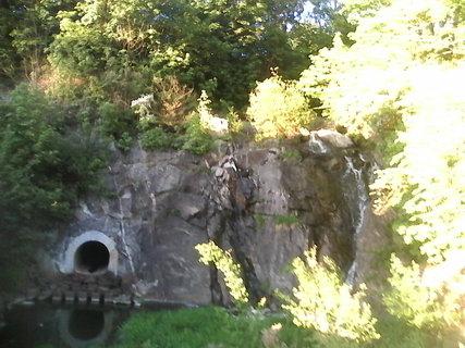 FOTKA - vodopad netece