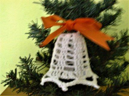 FOTKA - háčkovaný zvoneček