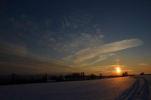FOTKA - zimní večer