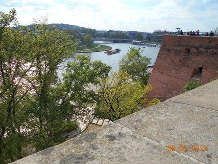 FOTKA - Pohled na řeku Vislu