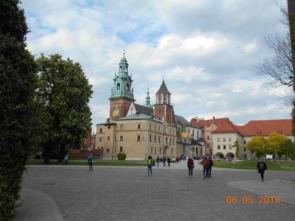 FOTKA - Nádvoří Wawelu