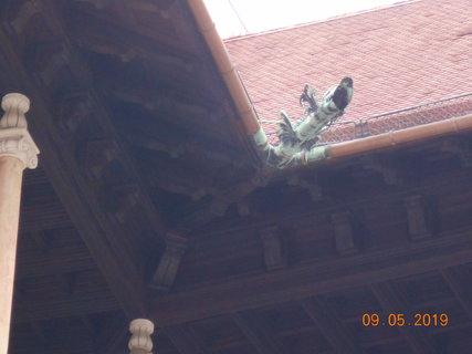 FOTKA - Chrlič ve tvaru draka