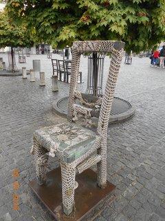 FOTKA - Zdobená židle
