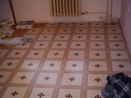 FOTKA - Nová kuchyně-začátky práce-podlaha 2