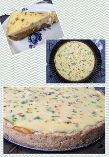 FOTKA - Broskvový koláč se zakysanou smetanou
