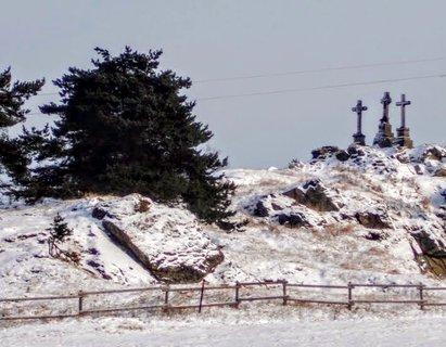 FOTKA - Tři křížky...i v zimě mají své kouzlo