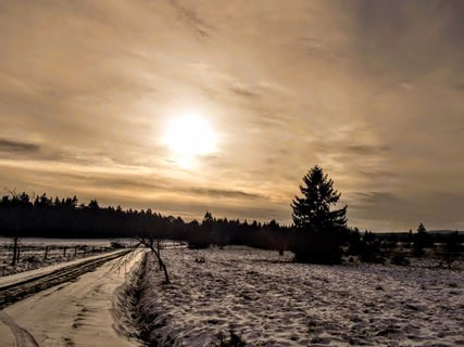FOTKA - Chmurná, ale krásná krajina