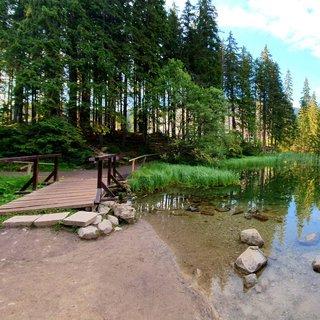 FOTKA - Dřevěný mostek