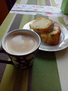 FOTKA - Bábovka a káva