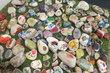 Chvalský zámek - Děti si mohly namalovat na kamínek