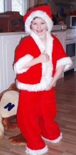 FOTKA - malý Santa