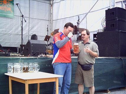 FOTKA - Pivní slavnosti Jeseník 2004