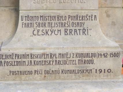 FOTKA - Kunvald detail pomníku