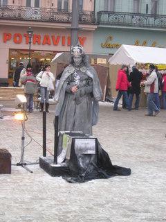 FOTKA - Socha dává cigárko :)