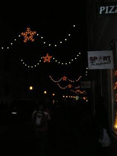 FOTKA - Osvětlení ulice
