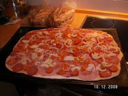 FOTKA - pečení domácí pizza 7