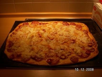 FOTKA - pečení domácí pizza 2