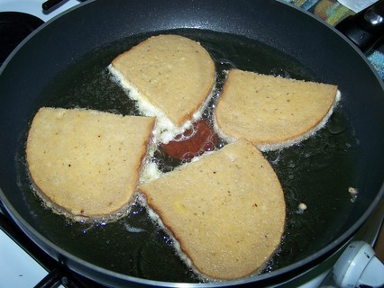 FOTKA - Chleba smažený ve vajíčku-příprava