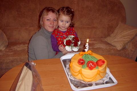 FOTKA - Lení s mamčou na 3 narozeninky