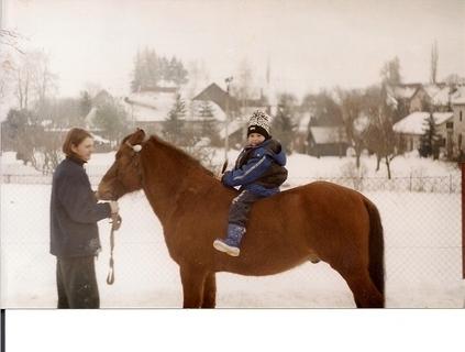 FOTKA - Bráchové a kůň