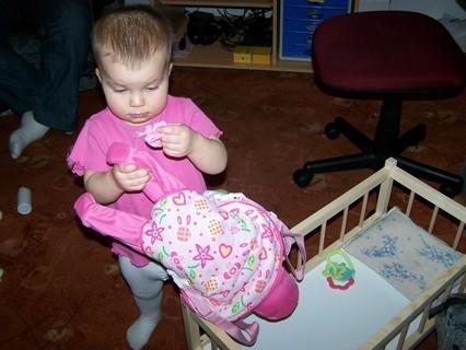 FOTKA - Markétka-2.narozeniny-musíme obout botičku