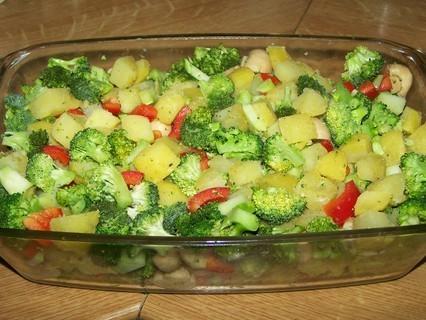 FOTKA - Brambory zapečené s brokolicí-příprava 4