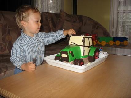 FOTKA - Ondrášek má 2.narozeniny